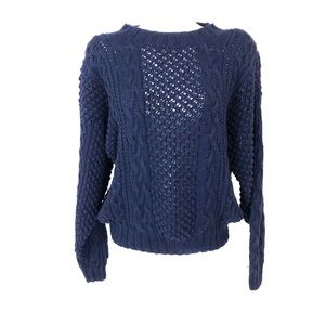 Nordstrom Point of View cable knit sweater